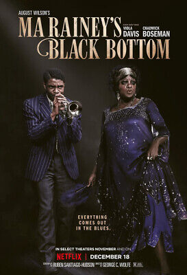 $12 • Buy Ma Rainey's Black Bottom (2020) DVD NEW  FREE SHIPPING WITH TRACKING