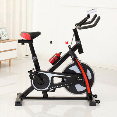 Sports Exercise Spinning Bike Cycling Bicycle Cardio Fitness Home Gym Workout • 95£