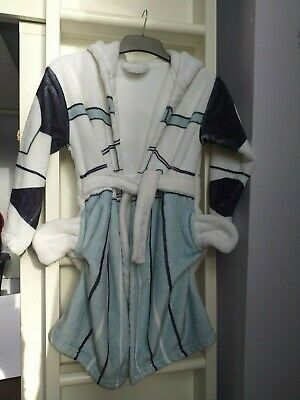 Star Wars Super Soft Dressing Gown With Hood And Pockets Size 7-8 Years • 4.50£