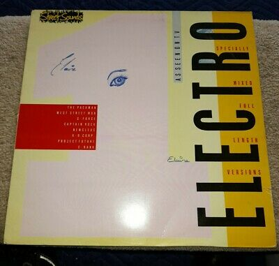 Street Sounds 1983 Electro 1 - LP Record Vinyl Album LP Various - Hip Hop Etc • 19.99£