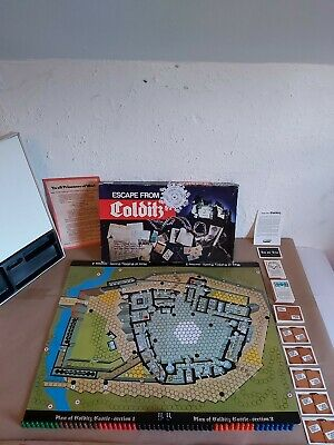 Escape From Colditz Board Game Complete Excellent Clean Condition Gibson's 1973 • 49.99£