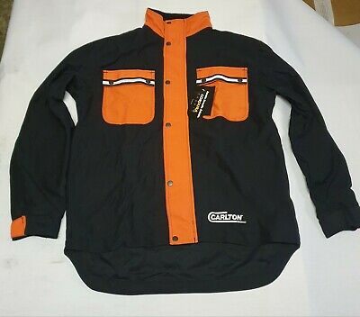 Carlton Forestry Chainsaw Safety Jacket Mens Large • 49£