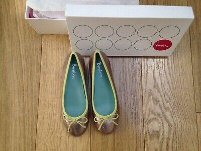 Boden Pewter Shoes Size 36 • 8.99£
