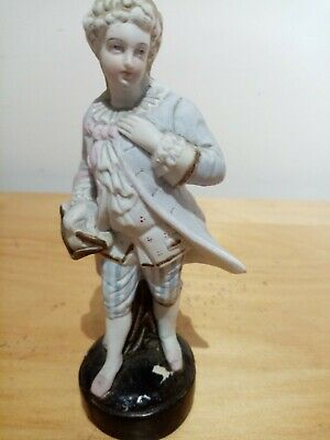 Bisque Figure Of A Gentleman Early This 1 I Reckon • 3.49£