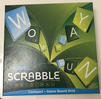 Travel SCRABBLE Game - Compact • 2.30£