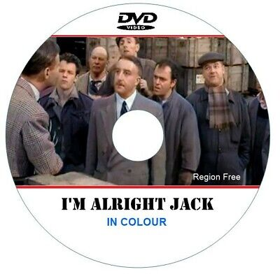 I'M ALRIGHT JACK. Peter Sellers. In Colour DVD. • 5.99£