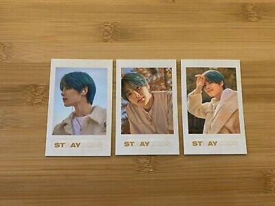 Kpop StrayKids Official Go Live In Life Concert IN Photocard Polaroid Set • 6.95£