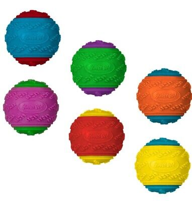 £14.99 • Buy 4 X Scooby Doo Durable Squeaky Dog Ball Toys - UK SELLER FAST DISPATCH
