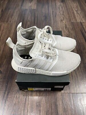 $ CDN119 • Buy Adidas NMD_R1 - Triple White Boost Size 8.5