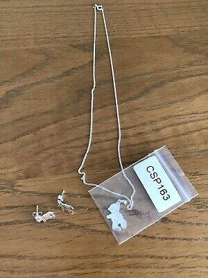 Me To You Tatty Teddy Sterling Silver 925 Earrings & Necklace - Brand New - Gift • 30£