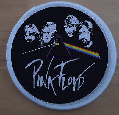 """£3.99 • Buy Pink Floyd Band Musician Sublimation  Iron Sew On 3"""" Patch Badge"""