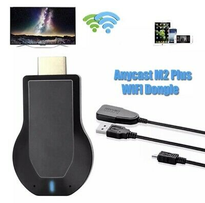 Tv Stick Wireless Display Receiver WIFI Dongle Screen Mirror 1080p HDMI + Cable • 9.89£