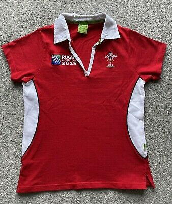 £17.98 • Buy Rugby World Cup 2015 Wales Shirt Women's Short Sleeved 12/14 Licensed Product