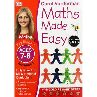 £5 • Buy Maths Made Easy: Ages 7-8 By Carol Vorderman (Paperback), Books, Brand New