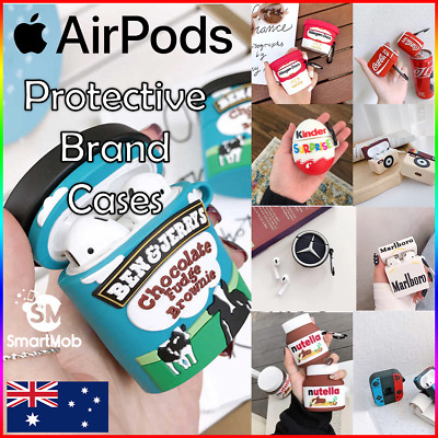 AU11.95 • Buy Apple Airpod Gen 1/2/3 Pros Silicone Protective Cartoon Soft Designer Case Cover