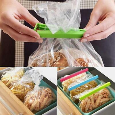 Food Bag Clip Reusable Tie Plastic Storage Sealed Refrigerator Freezer Fresh • 1.84£