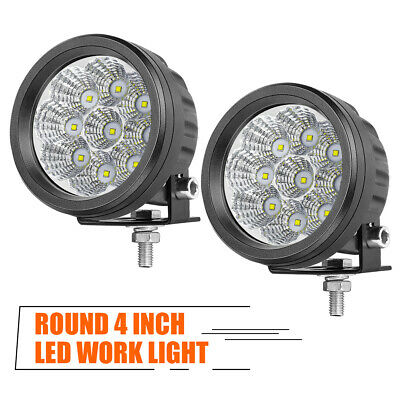 AU42.89 • Buy Pair 3.5''Inch Round LED Driving Lights Offroad Spot Flood Pod For Truck SUV ATV