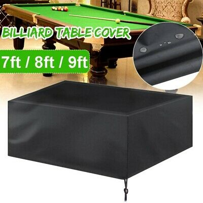 AU30.38 • Buy 9ft 8ft 7ft Fitted Heavy Duty Pool Snooker Billiard Table Cover Sheet Lining New