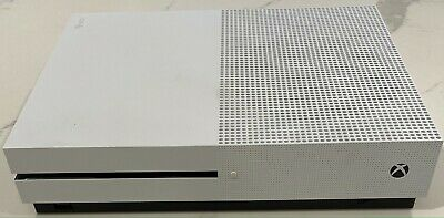 AU210 • Buy 1TB Microsoft Xbox One S Console -White -Used. No Controller. 4K Hdr.
