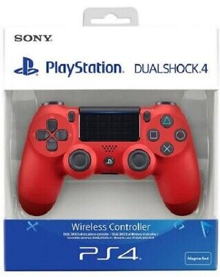 PlayStation Dualshock 4 Wireless Controller - Magma Red (PS4)  NEW AND SEALED • 52.95£