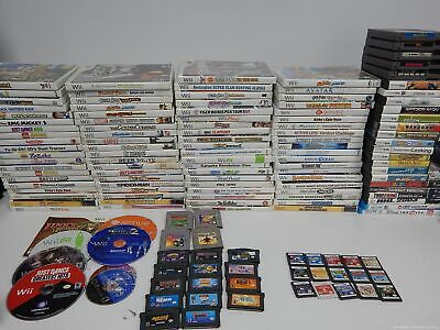 $ CDN318 • Buy Nintendo Wii, GameCube, 3DS, DS, Game Boy, N64, SNES And NES Game Lot 100+ Games