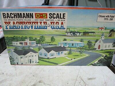 $19 • Buy Bachmann 0-s-scale Citizens With Paints # 1915:200.  80 Figures. All New In Box.