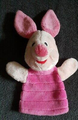Fisher Price Winnie The Pooh Piglet Hand Puppet Plush Soft Stuffed Toy 10  • 11.99£