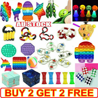 AU12.38 • Buy Fidget Toys Set Kit Sensory Tools Bundle Stress Relief Hand Kids Adults ADHD Toy