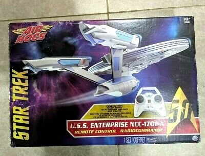 AU98.56 • Buy Air Hogs Star Trek U.S.S Enterprise NCC-1701-A R/C Drone-No Stand Or Manual*Read
