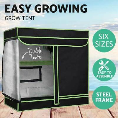 AU89.99 • Buy Large Hydroponics Plant Grow Tent Mylar Room Reflective Material Growth System