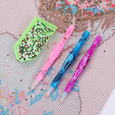 AU10.53 • Buy AU 5D Resin Diamond Painting Pen Point Drill Pens Cross Stitch DIY Nail Art Pens