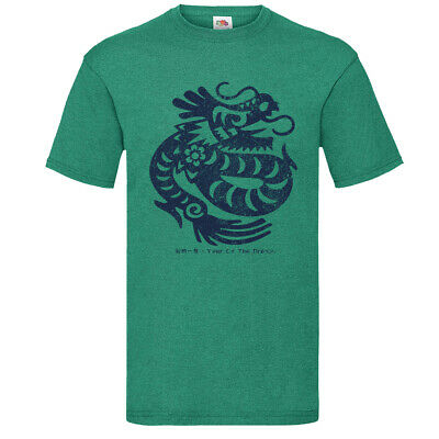 £11.99 • Buy Year Of The Dragon T-Shirt 2021 Chinese New Year Lucky Year? Colour Choice X4