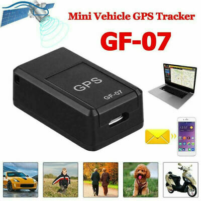 GF07 Car Magnetic GSM Mini SPY GPS Tracker Real Time Tracking Locator Device UK • 11.99£