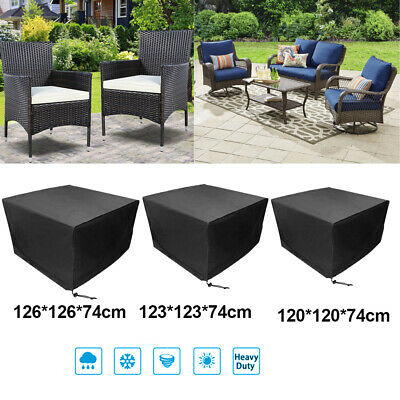 Garden Patio Furniture Set Cover Outdoor Rattan Table Cube Covers Waterproof UK • 12.92£