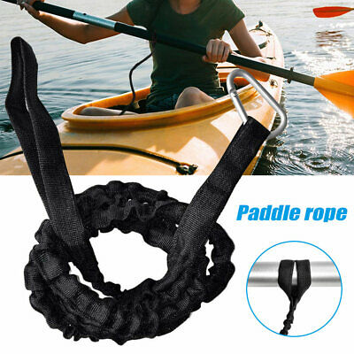 AU9.49 • Buy Kayak Paddle Leash Elastic Boat Ligature Rope Wear Resistance Safety Accessories