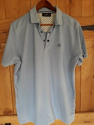 Duck And Cover Polo Shirt Size L  • 6.10£