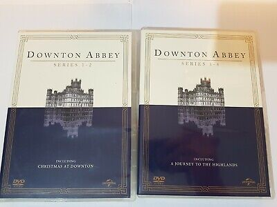 Downtown Abbey Series 1 - 2 + 3 - 4 Including Christmas Special • 11.99£