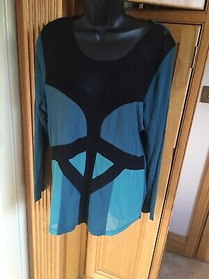 M&S Limited Collection Green Top Size 18 • 4£