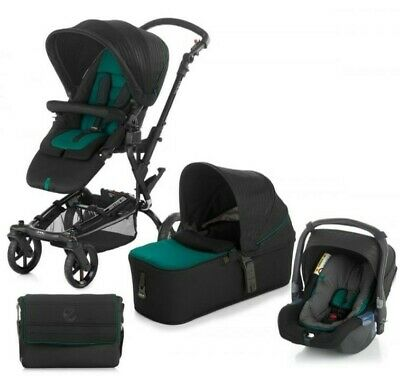 View Details Jane Epic Pushchair + Micro Carrycot + Koos Car Seat + Base And Bag Sequoia  • 300.00£