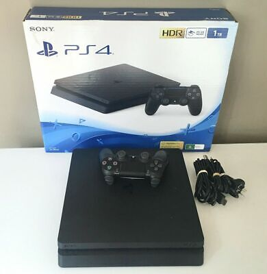 AU345 • Buy LIKE NEW Sony Playstation 4 PS4 Slim Console 1TB  Express Post : Warranty