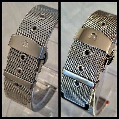 Greek Omega Watch Strap Mesh Milanese Bracelet James Bond No Time To Die Style • 19.99£