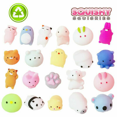 AU12.90 • Buy 10/20PCS Cute Animal Squishies Kawaii Mochi Squeeze Toys Stretch Stress Squishy