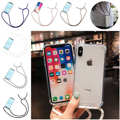 Case Cover With Neck Lanyard Cord Strap Crossbody For IPhone 11/ 11 Pro Max • 4.79£