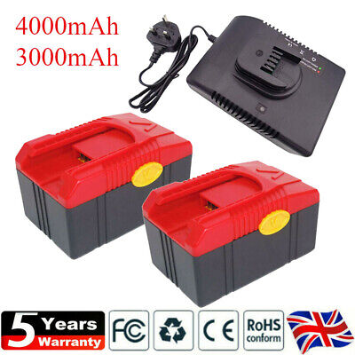 £44.90 • Buy Snap On Replace Battery CTB6187 CTB4185 CTB4187 6185 CT6850 Charger 18V 4000mAh