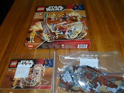Lego Star Wars 7670- Hailfire Droid & Spider Droid- Complete, Instructions, Box  • 60£