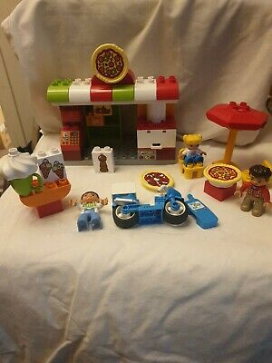Lego Duplo My Town 10834 Pizzeria Pizza Shop Play Set • 9£