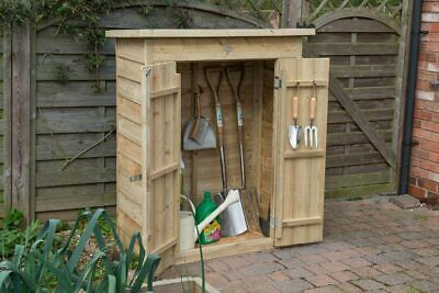 £209.99 • Buy Forest Pent Wooden Garden Tool Store - Outdoor Patio Storage - Pressure Treated
