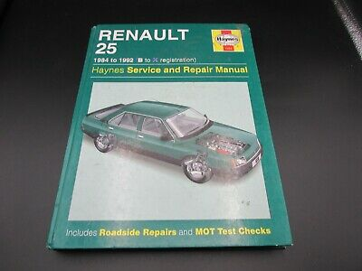 1228 Renault 25 1984 - 1992 Haynes Service And Repair Manual Hardback • 12.99£