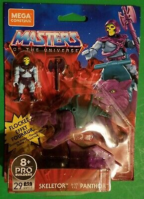 $20 • Buy Masters Of The Universe Flocked Panthor And Skeletor Mega Construx NEW