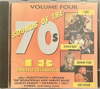 Various Artists: Sounds Of The 70's Volume 4 (Official CD Compilation) Free Post • 1.75£